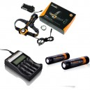 Lampe Fenix HP30 + Chargeur ARE-C2 + 2 accus ARB-L2S